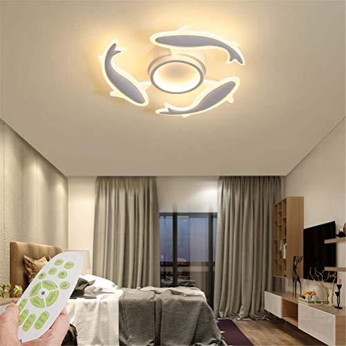 Jsyuany Lámpara de Techo Led Lámpara de Sala de Estar Moderna Luz de
