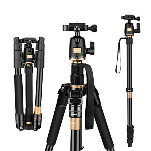 AFAITH Tripod for DSLR Camera, Ultra Compact and...