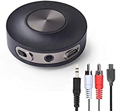 Avantree Priva III aptX Low Latency Bluetooth Audio Transmitter for TV PC (3.5mm AUX, RCA, PC USB Audio, NOT Optical) 100ft Long Range, Wireless Audio Adapter, Dual Link for Two Headphones, No Delay