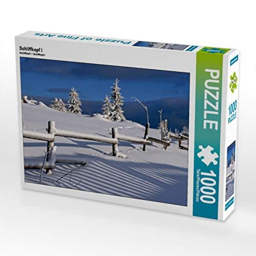 CALVENDO Puzzle Schliffkopf I 1000 Teile Lege-Größe 64 x 48 cm Foto-Puzzle Bild von Günter Franz Müller Fotografie