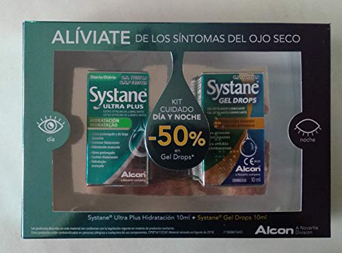 Systane Systane Kit Dia Y Noche Ultra Plus Hidratacion 10Ml+Systane Gel Drops 10Ml 300 g