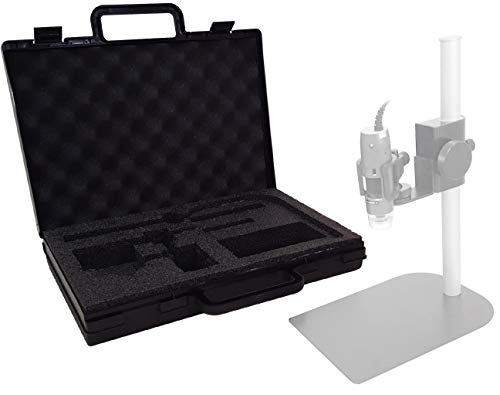 Custom Carrying Case for Dino Lite Microscope and Stand