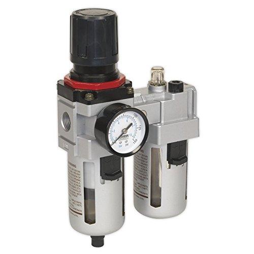 Sealey SA4001 Filtro de Aire/regulador/lubricador de Flujo Alto, 0 V, multicolor, 106mm x 268mm x 172mm