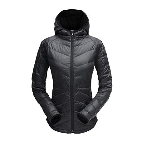Spyder Damen Solitude Jacke, Black, L
