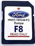 Ford F8 SYNC2 Tarjeta SD Mapa de navegación Europa 2019-2020