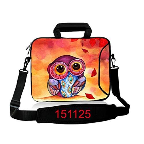 9.7 10.1 11.6 12.1 13.3 14.1 15.4 15.6 17.3 17.4Laptop Shoulder Bag Tablet Sleeve PC Case for Macbook HP Asus Acer HP Lenovo (Color : 151125, Size : 17 inch)
