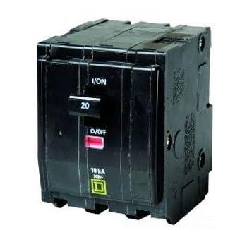 SQUARE D 20 AMP CIRCUIT BREAKER 3 POLE 480//277 VAC EDB34020
