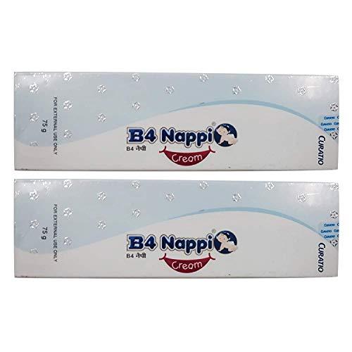 B4 Nappi Curatio Diaper Rash Cream (3-6 Months) (Pack Of 2)