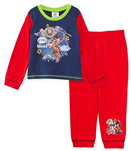 Disney Jungen Toy Story Langer Pyjama Set Buzz Woody Gr. 18-24 Monate, multi