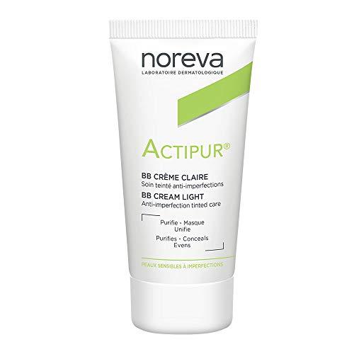 Noreva Actipur Anti-Imperfections BB Farbe Licht Creme, 30ml