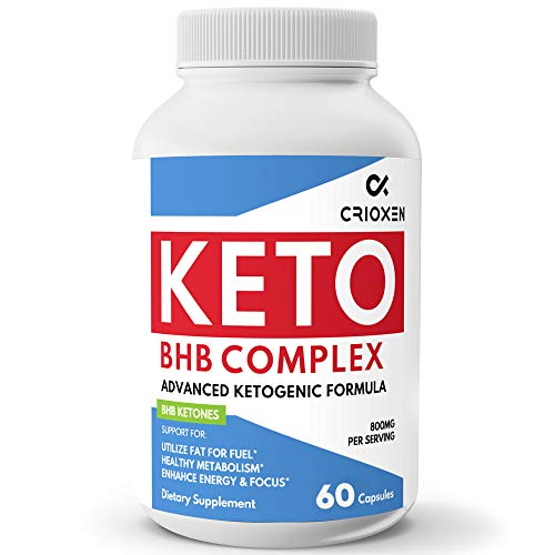 Keto Pure Diet Pills 60 Capsules - Advanced Keto Supplement Pure BHB Exogenous Instant Ketones Salts to Kickstart Ketosis Boost Energy and Focus for Men and Women