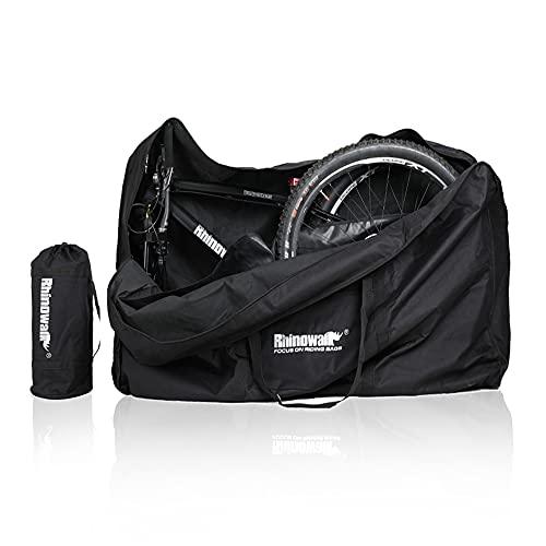 BAIGIO Fahrrad Transporttasche Wasserdicht Tragetasche Fahrrad Transport Abwahrungstasche für 26 Zoll Faltrad (Schwarz)