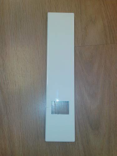 Placca / Copriavvolgitore Olivari mod. Tevere 264x57 mm bianco / nero