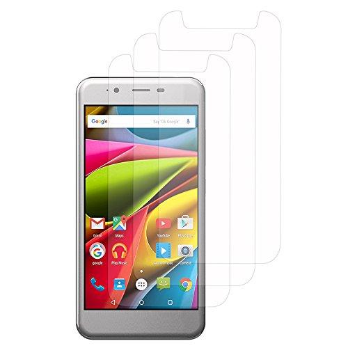 VComp-Shop® 3x Transparente Bildschirmschutzfolie für Archos 50 Cobalt 5.0