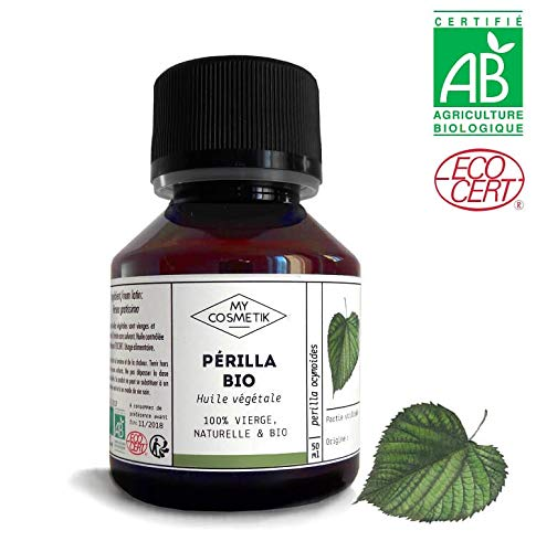 Olio vegetale di perilla Organico - MyCosmetik - 50 ml
