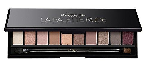 L'Oreal La Palette Nude Eyeshadow 10 piece - Rose