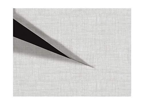 Zo!Home Hoeslaken Lino Split, Topper 180X200+12 Cm, Dove Grijs