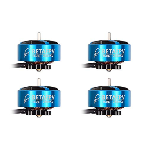 BETAFPV 4pcs 1606 2550KV 4S Brushless Motor FPV RC Motor for 4-5inch Toothpick Quadcopter F405 FC 35A ESC F4 AIO 2-6S 35A FC