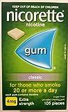 Nicorette Nicotine Gum 4mg Classic 3 Boxes (Total 315 Pieces) Quit Smoking