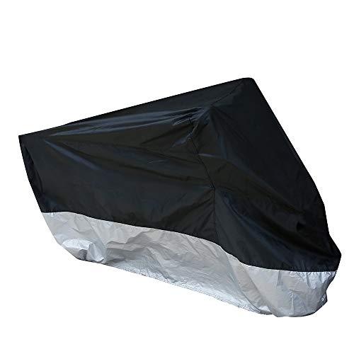 Telo Coprimoto Impermeabile Antivento Escrementi di Uccelli Resistente ad Acqua Polvere Pioggia Vento Foglie con Lucchetto Perforato (295cm x110cm x140cm)