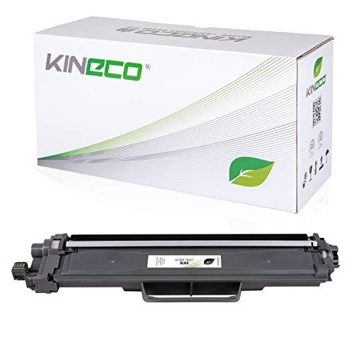 Kineco Toner kompatibel für Brother TN247 TN-247BK 3000 Seiten | MIT CHIP | Schwarz für MFC-L3710CW MFC-L3730CDN MFC-L3750CDW MFC-L3770CDW HL-L3210CW HL-L3230CDW HL-L3270CDW DCP-L3510CDW DCP-L3550CDW