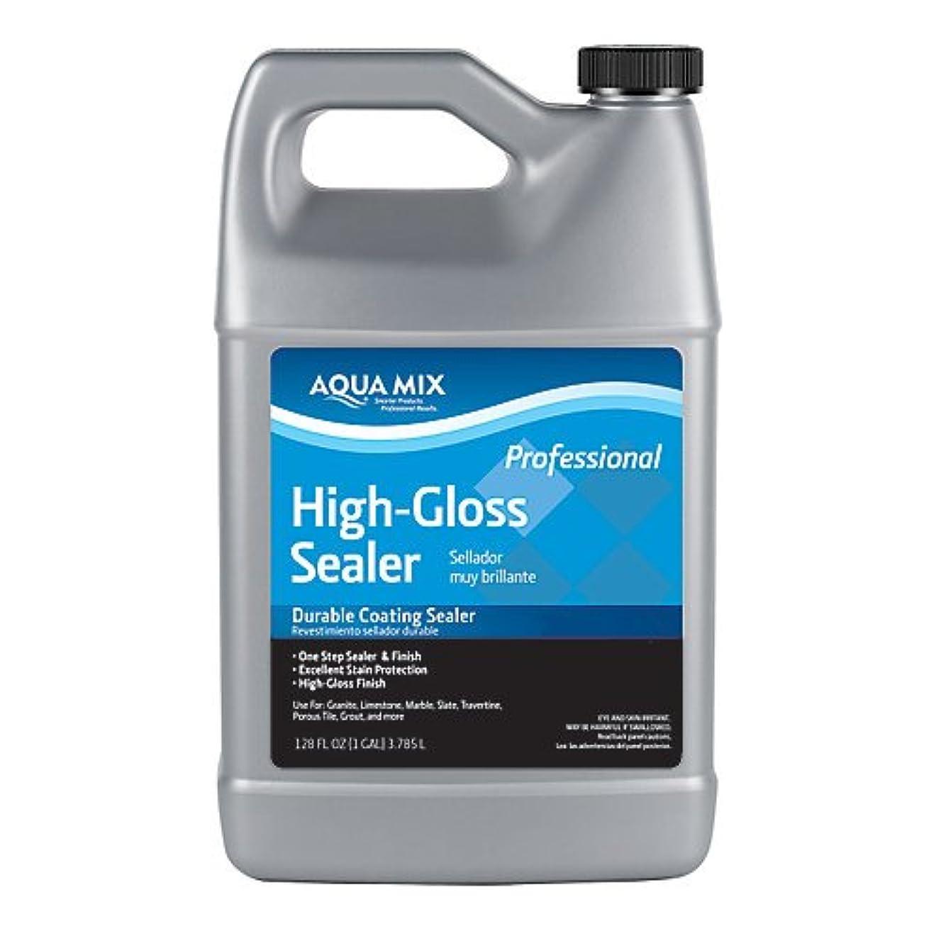 Aqua Mix High Gloss Sealer Durable Coating Sealer 1 Gallon