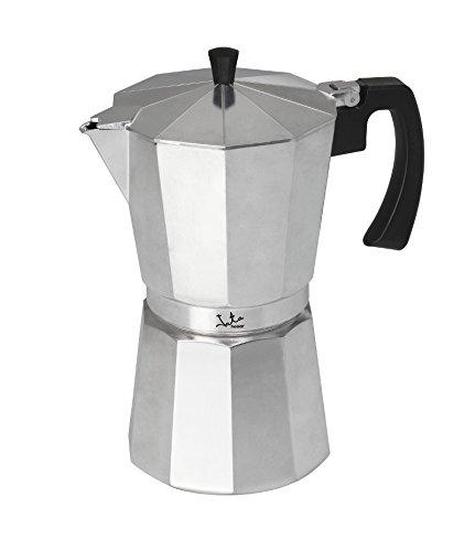 Jata Hogar Cafetera Italiana, Aluminio, Plateado,...