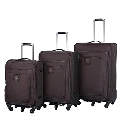 For Sale! Suitcase set Oxford Fabric Luggage 3 Piece Nested Sets 20in 24in 28in Softside Expandable ...