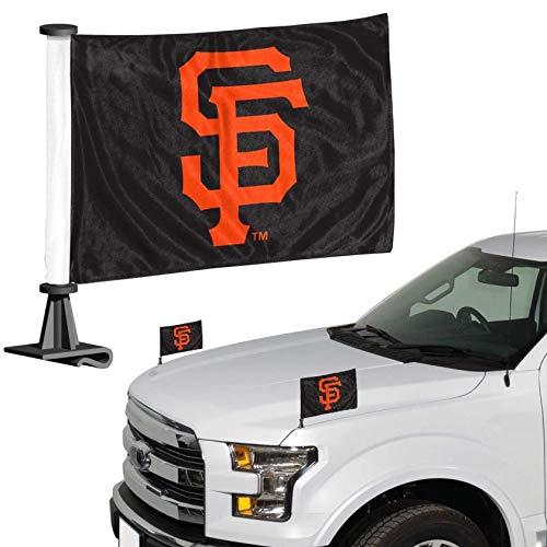FANMATS MLB San Francisco Giants San Fransisco Giants Flag Set 2Piece Ambassador Stylesan Fransisco Giants Flag Set 2Piece Ambassador Style, Team Color, One Size