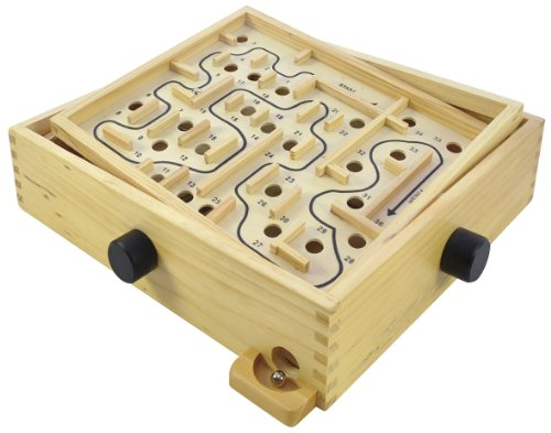 Eduplay Labirinto grande in legno, incl. 2 palline [importato dalla Germania]