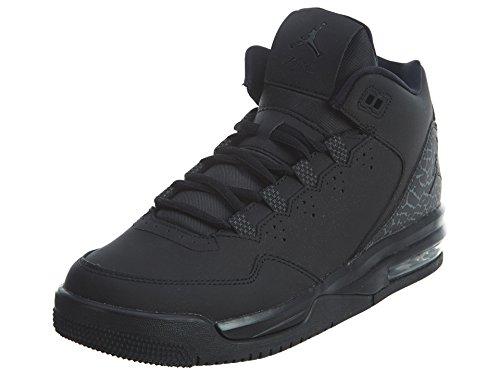 Nike Nike Jungen Jordan Flight Origin 2 BG Turnschuhe, Schwarz/Grau (Schwarz/Schwarz-Dunkelgrau), 38 1/2 EU