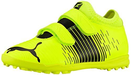Puma Unisex Kids Future Z 4.1 TT V JR Fußballschuh, Yellow Alert Black White, 31 EU