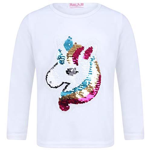 Sudadera niñas diseño Unicornio Lentejuelas, niños