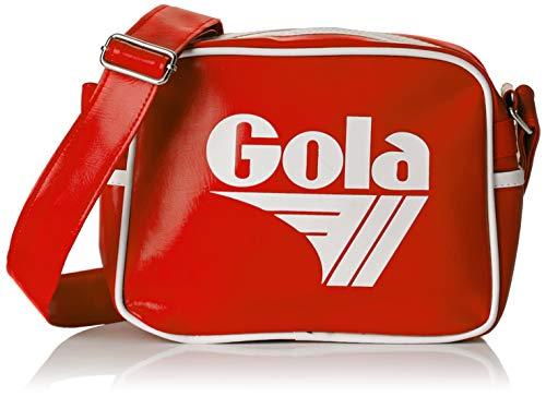Gola Unisex-Erwachsene Micro Redford Kuriertasche, Rot (Red/White)
