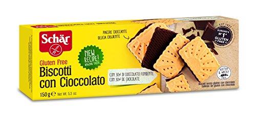 Dr.Schär Biscotti con Cioccolato - 150 g