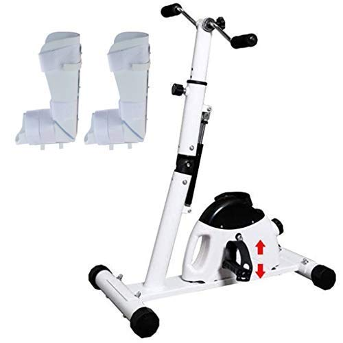 Attrezzo ginnico a pedale per braccia e piedi, bicicletta per riabilitazione Corsa di resistenza...
