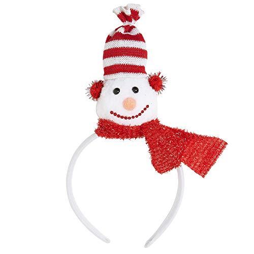 Widmann ? Bulles bonhomme de neige unisex-adult, rouge, taille unique, vd-wdm15117