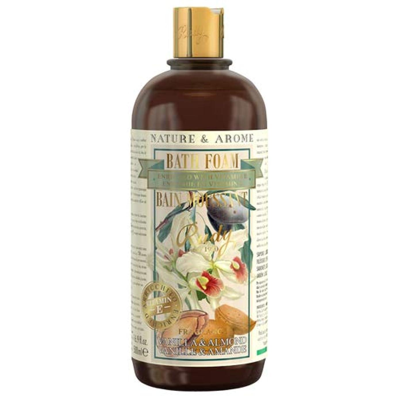 名前で反論栄養RUDY Nature&Arome Apothecary ネイチャーアロマ アポセカリー Bath & Shower Gel バス&シャワージェル Vanilla & Almond バニラ&アーモンド