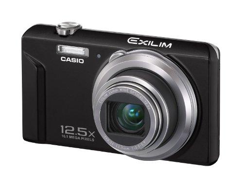 Casio Exilim EX-ZS150 Digitalkamera (16 Megapixel, 12-fach opt. Zoom, 6,9 cm (2,7 Zoll) Display, bildstabilisiert) schwarz