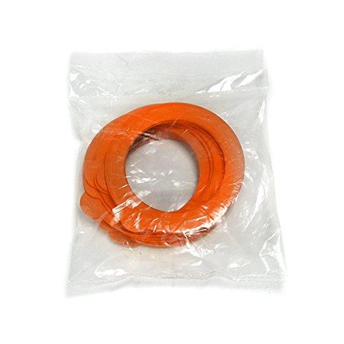 Home Joints pour vases, 3 mm, Blister de 10 pièces, Orange
