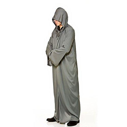 Larga para hombre con capucha gris del traje de Halloween / de lujo del carnaval de accesorios de vestir