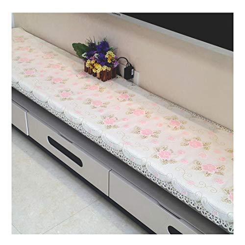 Qiao Jin & Tafelkleed PVC Tafelkleed - Woonkamer TV Kast Waterdicht Tafelkleed Crystal Stoftafelkleed tafelkleed