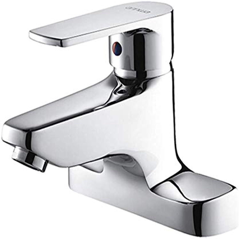 Spültischarmatur Küchenarmatur Swivelwaschbeckenarmatur Mit Kaltem Und Heiem Wasser Verchromter Badarmatur Aus Kupfer