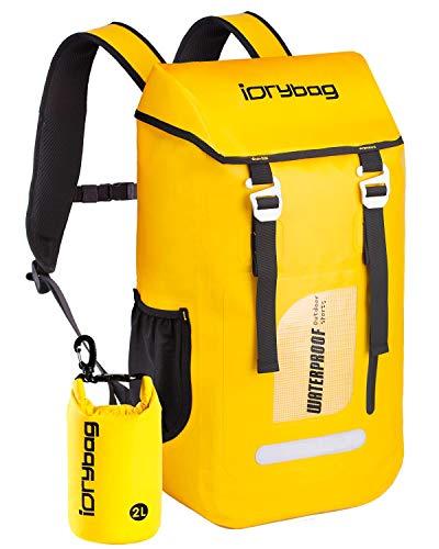 IDRYBAG Dry Bag Backpack Waterproof 30L, Floating Dry Backpack Water Sport, Marine Waterproof Backpack Dry Bag for Kayaking, Boating, Rafting, Swimming, Hiking, Camping, Travel, Beach