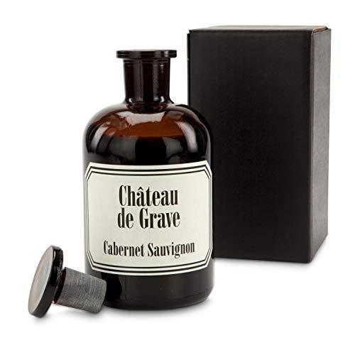 Die witzige Apothekerflasche mit Cabernet Sauvignon Rotwein - Ein edler Tropfen Wein in einer außergewöhnlichen Medizinflasche