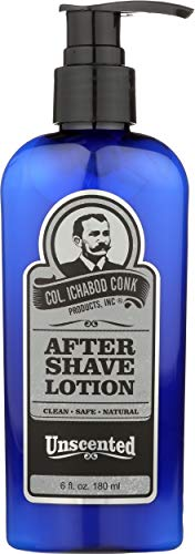 Colonel Conk, Shave Lotion Unscented After, 6 Ounce