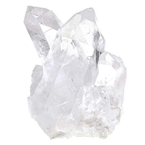 新宿銀の蔵 水晶 クラスター ブラジル 産 約166g 水晶クラスター ブラジル産水晶 天然石 パワーストーン 浄化 原石 天然水晶 クォーツ