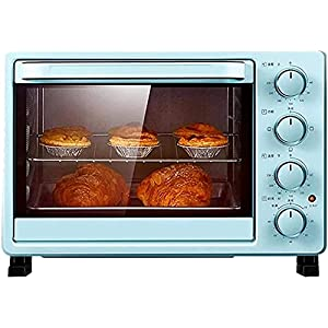 25l Household Mini Oven, Toaster Oven, Electric Oven, Multi-Function Bakery Timer Toaster, Biscuit Bread Cake Pizza…