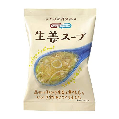 コスモス食品 Nature Future 生姜スープ 10.6g ×10袋