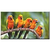 JJLESUN3 Druck Loriot Bird Leinwand Kunstdrucke